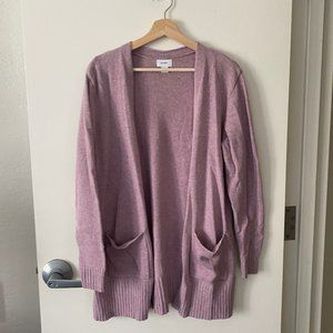 EUC Old Navy lavender purple cardigan
